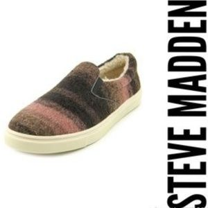 New Steve Madden Epitaph Round Toe Slip On Loafers